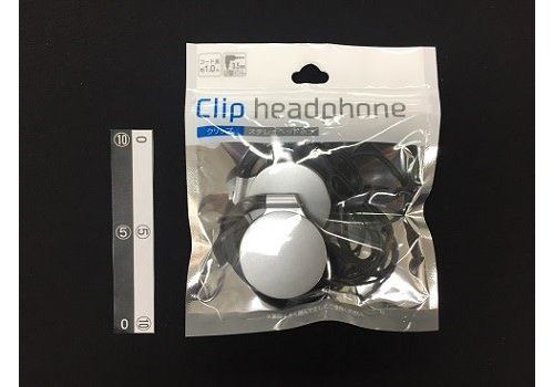 Clip stereo headset