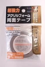 Pika Pika Japan Acrylic foam double sided tape rough surface 0.5m