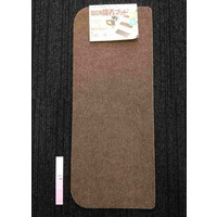 Non-slip mat square brown for stairways