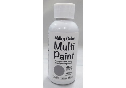 Milky multi paint(mild gray)