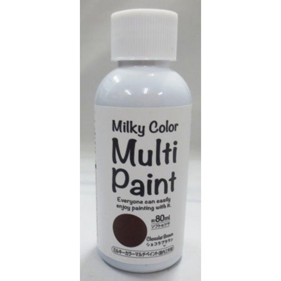 Milky multi paint chocolate brown-1