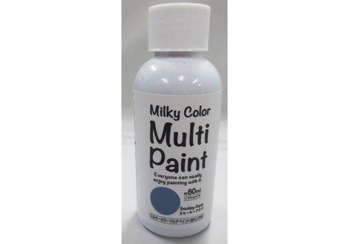 Milky multi paint smoky aqua