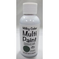 Milky multi paint army green