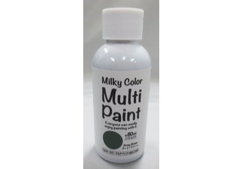 Milky multi paint(army green)