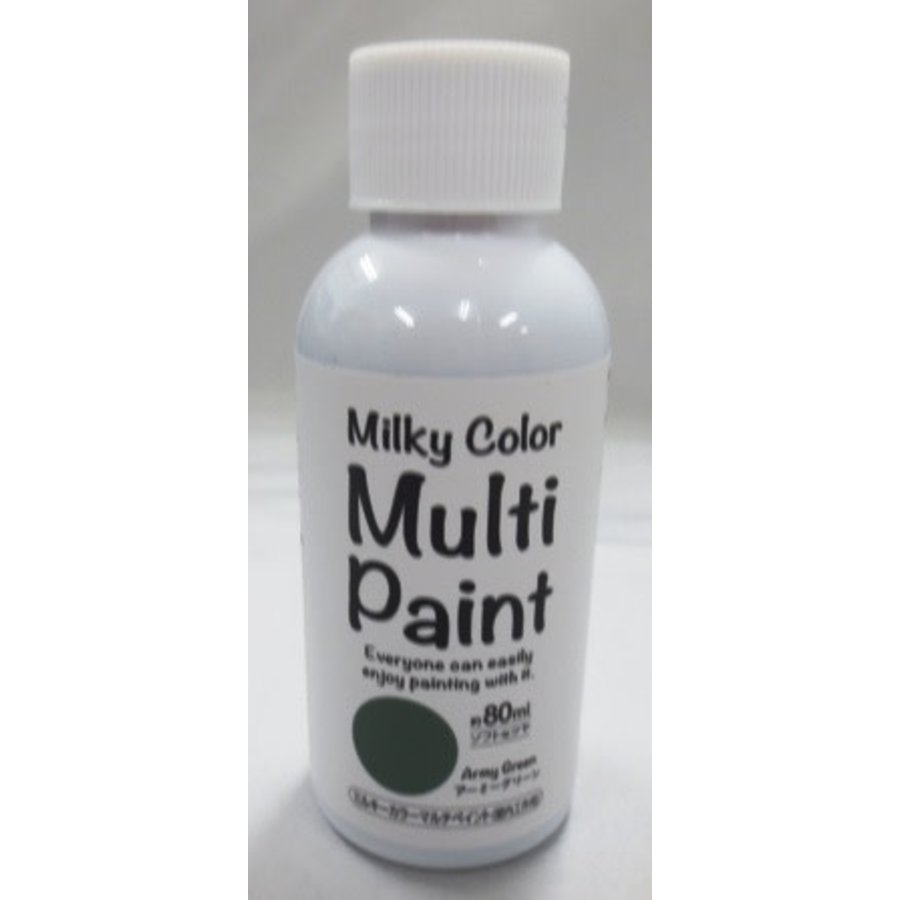 Milky multi paint army green-1