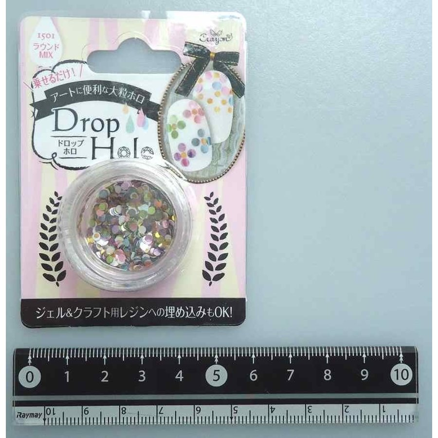 Dropped hologram round mix-1