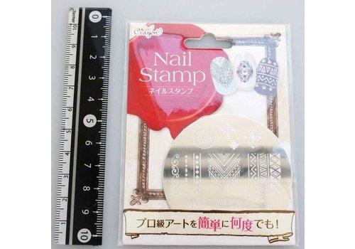 Nail stamp ethnic