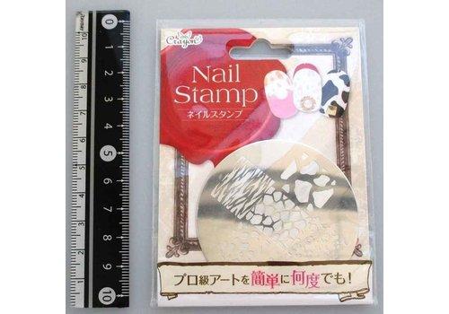 Nail stamp animal
