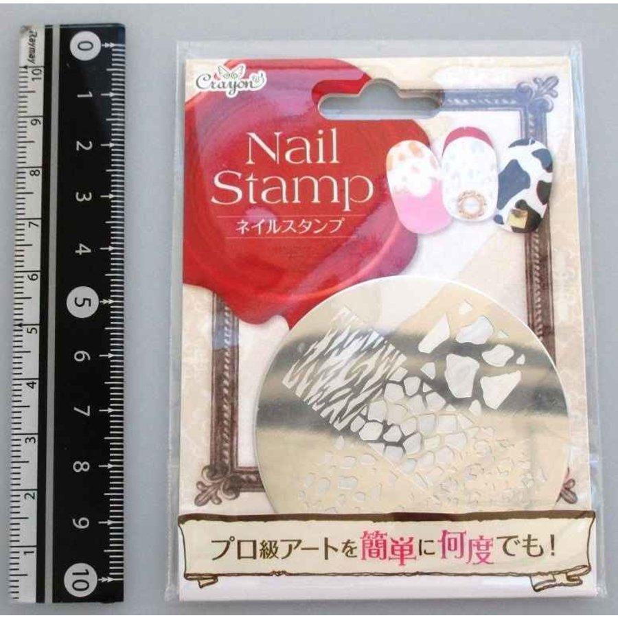 Nail stamp animal-1