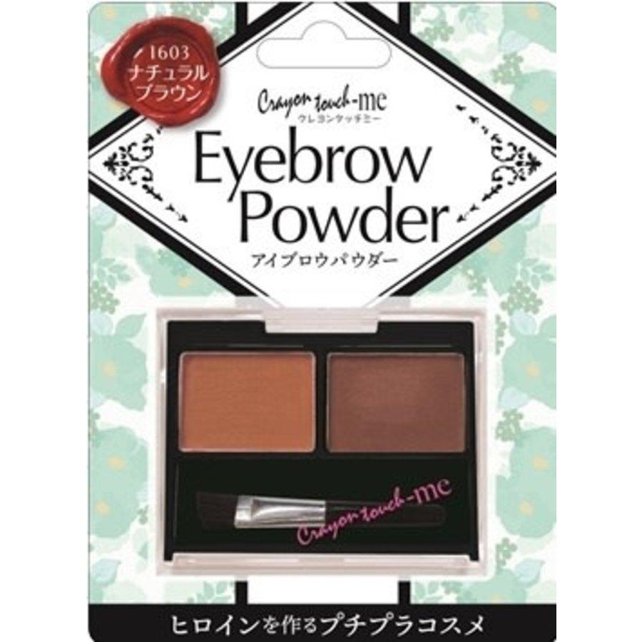 Eye brow powder natural brown-1
