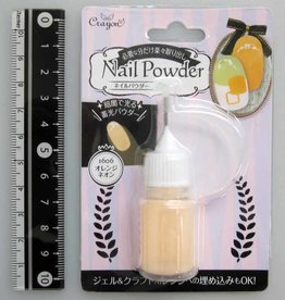 Pika Pika Japan Nail powder orange neon