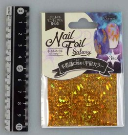 Pika Pika Japan Nail foil galaxy flash gold