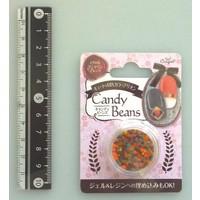 Candy motif beads mandarine blend