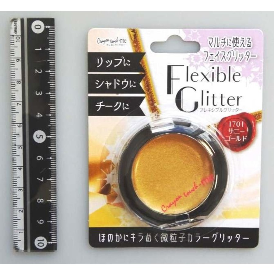 Flexible glitter sunny gold-1