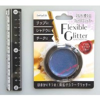 Flexible glitter sailor blue