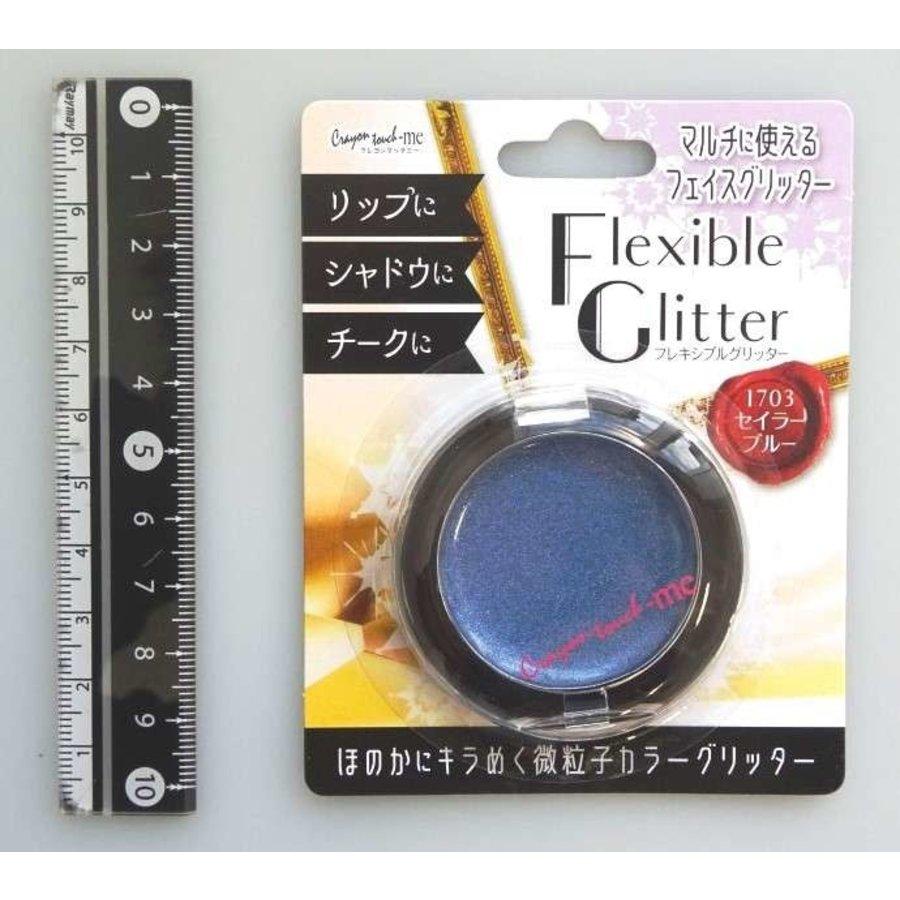 Flexible glitter sailor blue-1