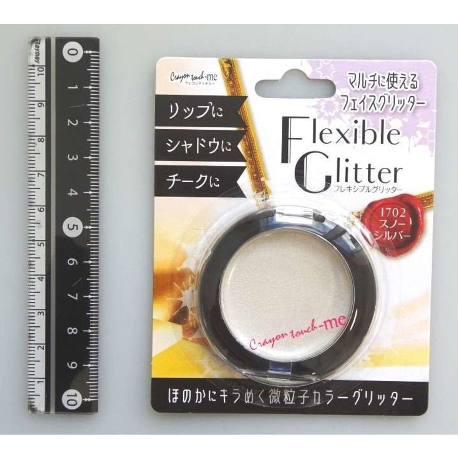 Flexible glitter snow sliver-1