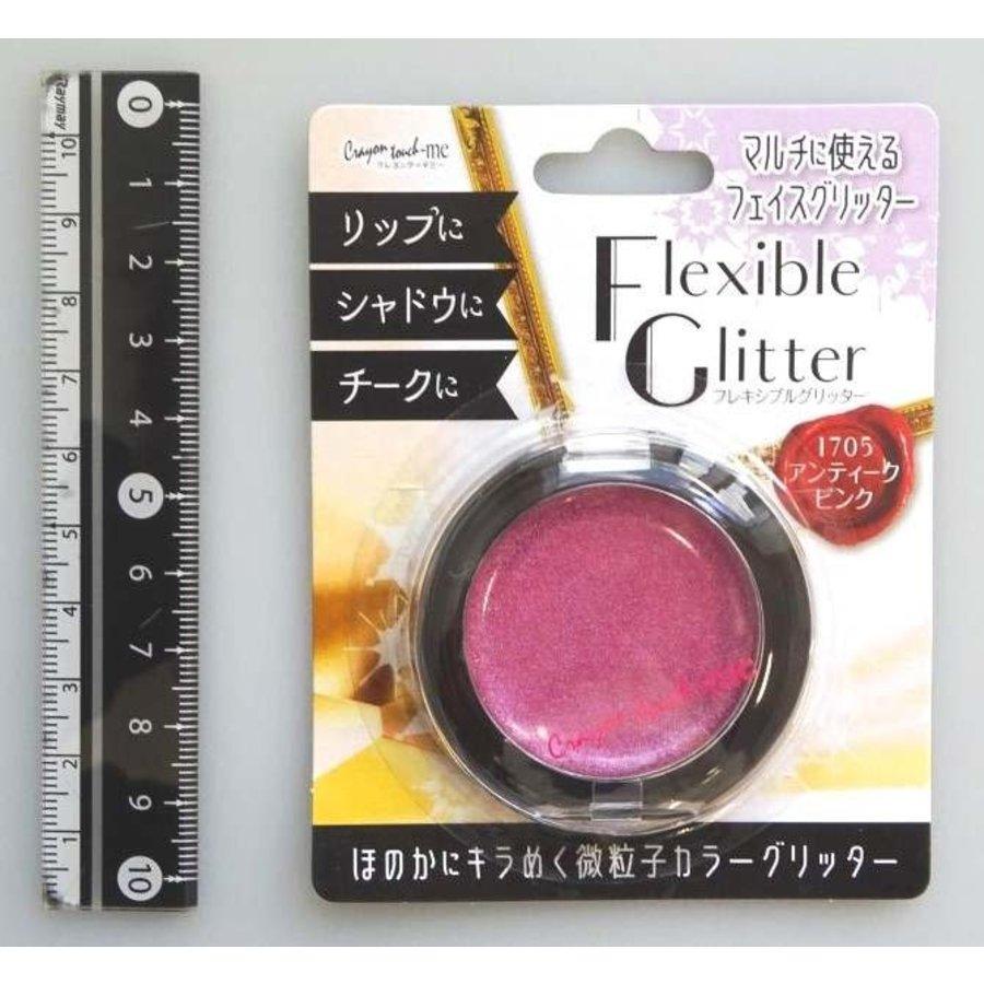Flexible glitter antique pink-1