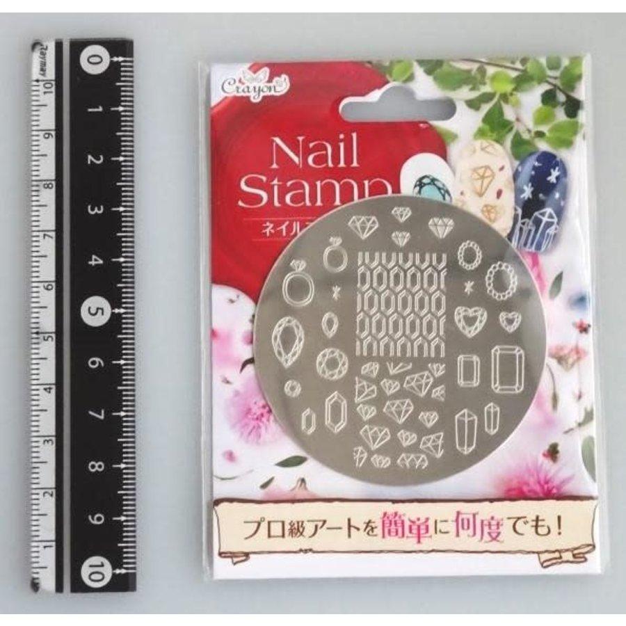 Nail stamp 6 jewelry box-1
