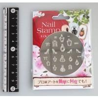 Nail stamp 6 girl's closet