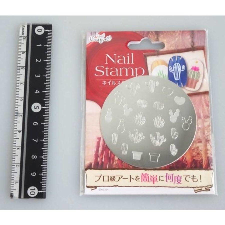 Nail stamp 7garden-1