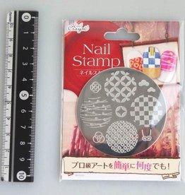Pika Pika Japan Nail stamp 7 Japanese modern pattern