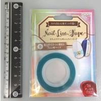 Nail tape aurora blue
