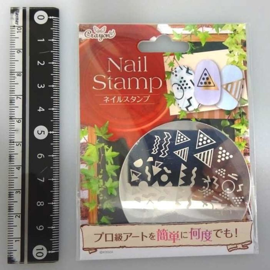 Nail stamp 8 triangle-1
