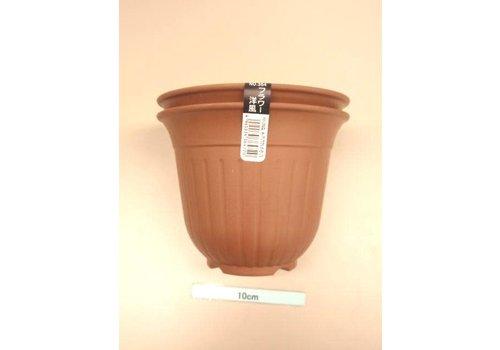 Flower Western-style mini-2P chocolate brown
