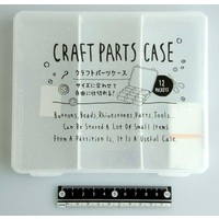 Craft part case middle clear