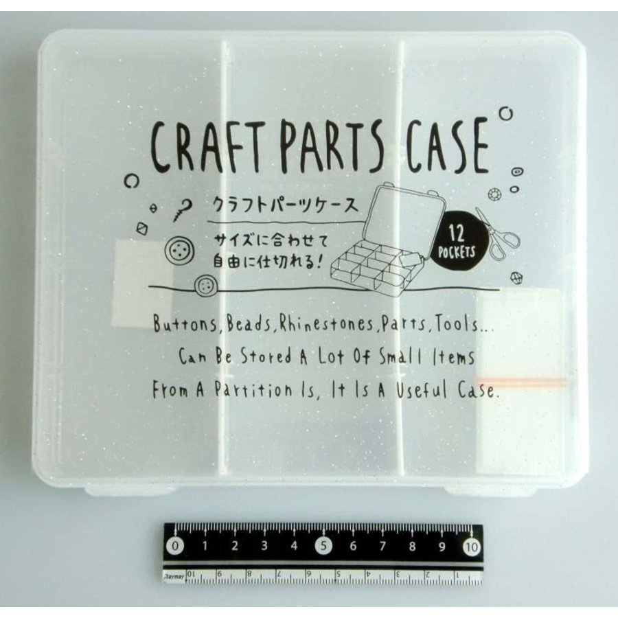 Craft part case middle clear-1