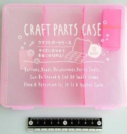 Pika Pika Japan Craft part case middle pink