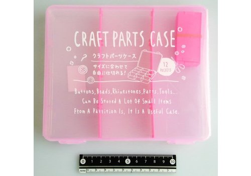 Craft part case middle pink