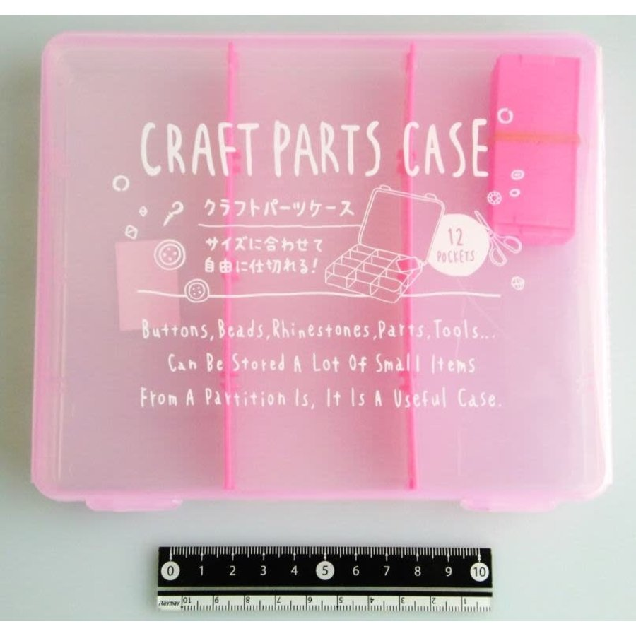 Craft part case middle pink-1