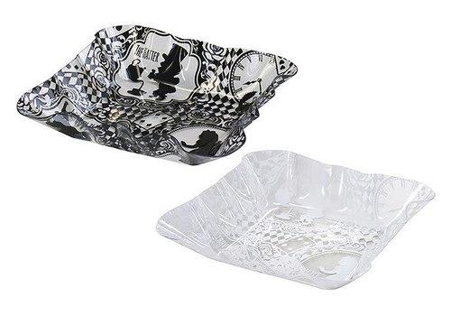 Plastic tray square L Allice