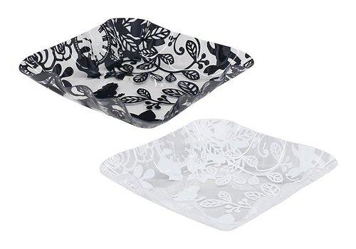Plastic tray square S Allice
