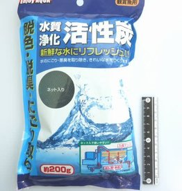 Pika Pika Japan Water purify active charcoal 200g for pet
