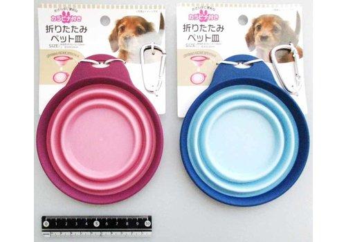 Folding pet dish