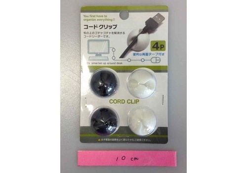 Cord clip 4p
