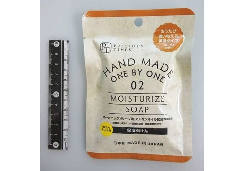 Keep moisture hand made soap with foaming net