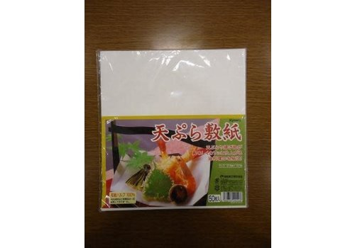 Tempura paper (cooking oil absobver), 50sheets