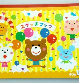 Pika Pika Japan Sketchbook -40 sheets-