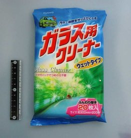 Pika Pika Japan Car glass cleaner 20p