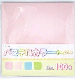 Pika Pika Japan Pastel color paper 100s
