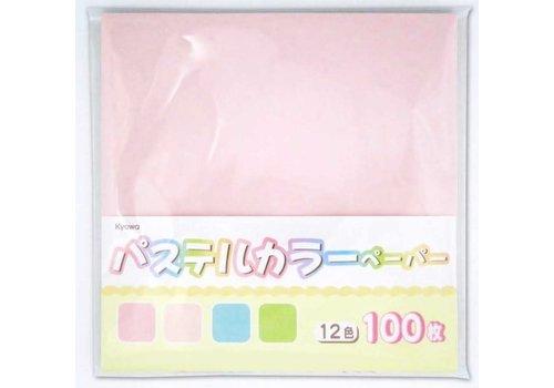 Pastel color paper 100s