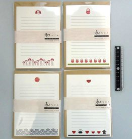 Pika Pika Japan Letter set Japan motif Nagomi 5prs