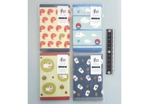 ?Petit paper bag Japan motif Nagomi 8p