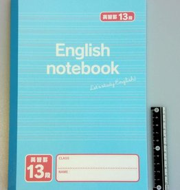 Pika Pika Japan B5 Notebook for English 13lines 50s