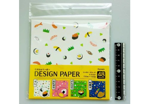 Design paper Japanese food
