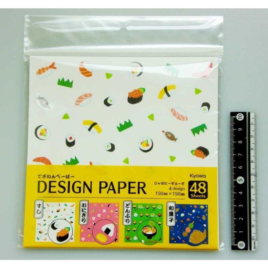 Design paper Japanese food-1